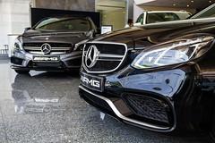 Mercedes-Benz A45 AMG & E63 AMG (Jeferson Felix D.) Tags: car canon eos mercedes benz mercedesbenz a45 luxury v8 amg luxurycar e63 18135mm 60d mercedesbenze63amg canoneos60d mercedesbenza45amg