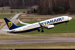 EI-DWT Boeing 737-8AS(WL) Ryanair (Andreas Eriksson - VstPic) Tags: london boeing ryanair stansted 683 eidwt 7378aswl