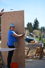 2014/04 OBA Build Day (Habitat for Humanity Portland/Metro East) Tags: oregon portland for humanity habitat association bankers