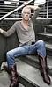 silverdaddy_0169 (picman1108) Tags: man male daddy boots crotch jeans levis cowboyboots silverdaddy