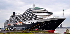 CUNARD MS Queen Victoria (Dave McGlinchey) Tags: cruise sea liverpool docks seaside dock ship vessel cruiseship seafront cunard queenvictoria liner oceanliner prin