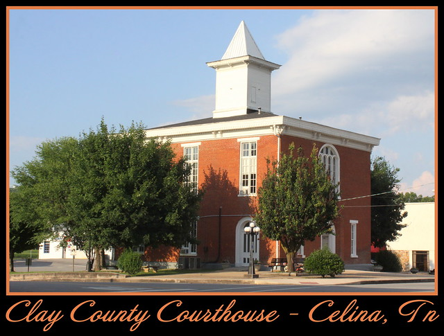 For Sale: TN Courthouse Postcard Collection: Clay