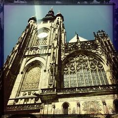 St. Vitus Cathedral (diligenceair) Tags: prague hipstamatic canocafenolfilm wattslens