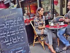 2015-07-19  Paris - Le Gramont - 15 Boulevard des Italiens (P.K. - Paris) Tags: street people paris café french terrace candid terrasse july sidewalk juillet 2015