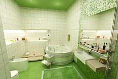 Green Bathroom Design Ideas White Wall Tile With White Bathtub And Washbasin (kattyvoss) Tags: white green wall tile bathroom design with and bathtub ideas washbasin