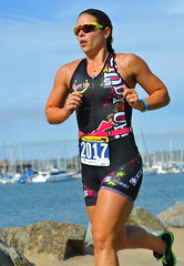 Megan Sullivan (Chris Hunkeler) Tags: tattoo state sandiego sullivan outline triathlon triathlete 2529female megansullivan bib2017
