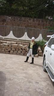 ECTT President prepares to enter the Rogun Mountain