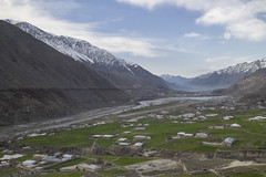 Chitral valley, Pakistan (LubnaJavaid) Tags: chitral valley pakistan beautiful landscape kpk green blue mountains snow water river stream grass house heaven