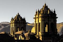 Cuzco Morning (jezselten) Tags: building cathedral church peru cuzco southamerica luck tourist stone cupola christian faith walking early sunrise morning awake city urban town
