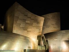 Walt Disney Hall Night photography (bryanasmar) Tags: geometry disney hall dtla olympus omd em5ii 1240pro night photography