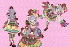 Fizzy Sprinkles (SerenitySemple) Tags: secondlife furry fashion barerose ayashi gacha gachagarden rccluster whimsical food nom newrelease junkfood madpeafoodfestival thimble kawaii anime animehead mokyu