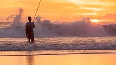 _MG_1713 (treilmann) Tags: beach fisherman seminyak sunset bali fishing