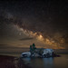 Milky Way over Hollow Rock (RJIPhotography) Tags: red