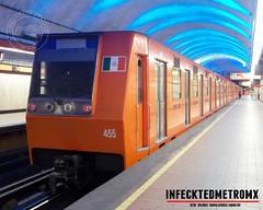 Concarril NM-83 A Bca del Muerto L-7 (infecktedmetromx) Tags: concarril nm83 stc nm83a cdmx subway metro df stcmetro mexico l7 metrodelaciudaddemexico rubbertyredmetro ciudaddemexico cddemexico