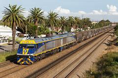 2017-03-13 Pacific National EL55-EL56 Waratah AS957 (deanoj305) Tags: waratah newsouthwales australia au cfcla el55 el56 pacific national coal train austar nsw