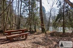 Rastplatz am Gelände der Abentheuerer Eisenhütte