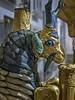 "Famous ""ram in the thicket"" sculpture recovered from the royal cemetery of Ur, Iraq 2550-2450 BCE (3) (mharrsch) Tags: ur sumer mesopotamia iraq tellalmuqayyar royal cemetery necropolis funerary ancient 3rdmilleniumbce 26thcenturybce 25thcenturybce pennmuseum philadelphia pennsylvania mharrsch raminthethicket goat gold lapislazuli shell sculpture tree"