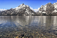 Silver reflection (erichudson78) Tags: usa wyoming grandtetonnationalpark jennylake lake lac canoneos6d canonef24105mmf4lisusm eau water reflection reflets paysage landscape nature montagne mountain neige snow stunning