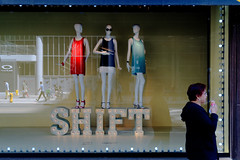 Shift (Computer Science Geek) Tags: toronto ontario window mannequins shopwindow queenstreetwest thebay mannikins lumixg20mmf17asph