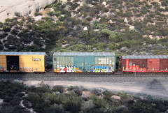 ZOURNISE (WRBT Railway) Tags: graffiti pass trains dirt cajon nise goldenwest freights taf zour weridebytrain wrbt