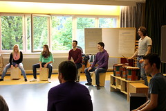Cajon Workshop - Percussion Academy - (Behnam Hassani) Tags: djembe percussion workshop cajon acadmey kyllburg michaelnitsche wwwpercussionacademyde behnamhassani