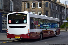 178 at the Gold Sea | Lothianbuses.com (MSDC43) Tags: buses volvo edinburgh beo lothian 178 b7rle sn13 sn13beo