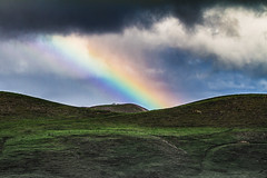 Moody Rainbow (Jason Milich) Tags: winter rain weather landscape rainbow farm northland paddock southernhemisphere