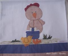 COLEO MESTRE CUCA 2013 (*Sonhos e Retalhos Ateli*) Tags: galinha patchwork animais decorao cozinha bordado cestadeovos patchcolagem panodeprato apliqu