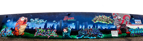 FX Attacks 20 years of Mayhem | Houston Graffiti | Poem Pilot Mack PerOne Mek Dero Nekst