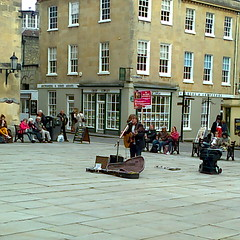 photo0244 (southglosguytwo) Tags: bath buildings busker music variouspeople 2013 may spring