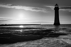 (Brian Sayle) Tags: sunset england lighthouse beach water river coast shore 7d 1740 wallasey wirral merseyside canon1740 ef1740mmf4lusm eos7d canoneos7d canon7d 4737carlin