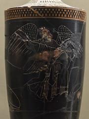 Eos and Memnon (egisto.sani) Tags: paris ceramica ceramic greek eos louvre athens du di attic pottery vases parigi attica greca memnon lekythos muse greek louvre painter myths pittore vasi greci diosphos diosphos miti