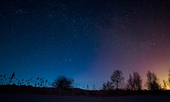 Light Pollution vs Natural Light (Mikko Photography) Tags: earthandspace peopleandspace competition:astrophoto=2013