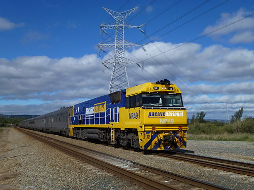 NR 49 on the Eastbound Indian Pacific