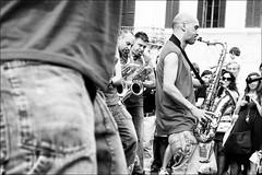 Umbria Jazz! (andaradagio) Tags: bw italy canon italia perugia bianconero umbria umbriajazz funkoff flickraward andaradagio nadiadagaro