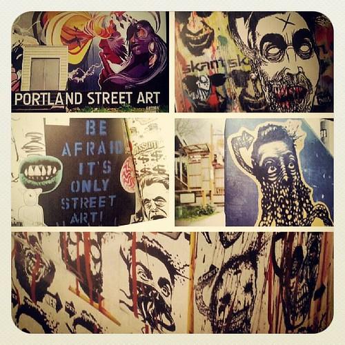 The Portland Street Art Book Volume 1