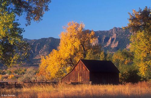 Photo - Historic Doran Barn along South Boulder Creek trail, just south of South Boulder Road.