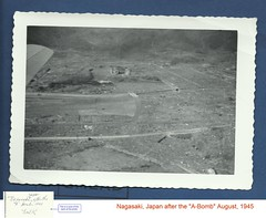 Nagasaki, Japan on August 10th, 1945 (sixty8panther) Tags: from city our history k birds japan port project death bay harbor photo sad image humanity manhattan destruction wwii jin radiation victory ww2 local total bomb 1945 powerful nagasaki learn flyover eyeview neveragain devastation surrender based mistakes fallout abomb b29 fatman plutonium atombomb costofwar reconnaissance leveled nagasakijapan august1945 iambecomedeath livessaved lostk aftertheabomb august10th1945 localk