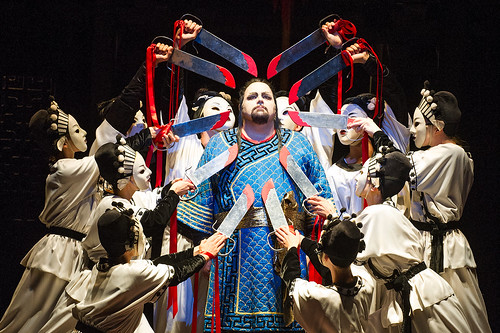 Marco Berti as Calaf in Turandot © ROH/Tristram Kenton, 2013