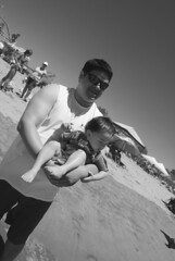 DSC_0059 (rlnv) Tags: california blackandwhite santacruz beach jacob nate bayarea centralcoast santacruzbeachboardwalk 1855mmf3556gii nikond40x