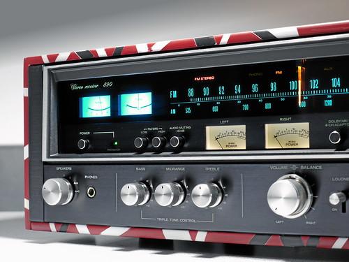 Sansui 890 Eddie van Halen Edition