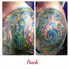 More views #biomech #bioorganic #biomechanical #biomechtattoo