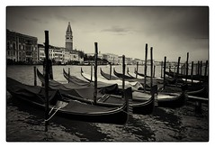 Le gondole (barbarakarl42) Tags: venezia venedig gondeln