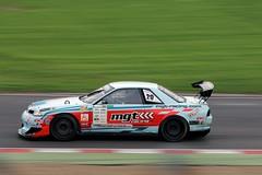 Nissan Skyline (28) (Mark Biggers) (tbtstt) Tags: uk 6 k sport skyline race championship nissan bc time mark attack super racing round summit pro 28 hatch circuit brands hks gtr mgt 2013 biggers