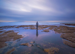 Reflecting (On why i bothered getting out of bed this morning) ({Martin Fryer}) Tags: ocean longexposure seascape reflection clouds sunrise reflections landscape nikon rocks martin sigma northumberland coastal le northsea northeast fryer haida sigma1020mm nikond3200 landscapephotography newbigginbythesea