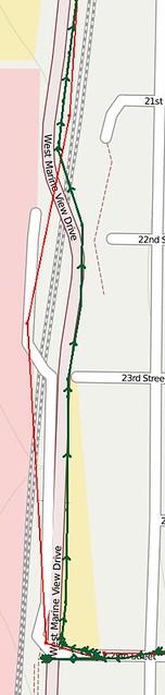Google Maps Walkway Confusion