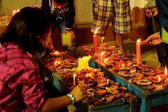Kali Puja in Kolkata........ Diwali Night (pallab seth) Tags: nightphotography india festival night religious lights nightshot kali religion decoration goddess culture nightlight idol hindu hinduism kolkata bengal festivaloflights cityatnight 2012 deepavali happydiwali dewali kalipuja