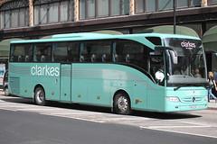 BV10ZKG Mercedes Benz Tourismo of Clarkes (Ian Press Photography) Tags: london mercedes benz coach transport coaches tourismo clarkes bv10zkg
