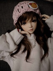 Gorrinho da Loren <3 (Tay Mura) Tags: hat ball asian doll crochet tags clothes bjd middle msd jointed sized iplehouse