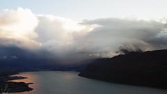 Swallowed Ⅱ (Clemence Pacault.) Tags: cloud mountain lake france mountains alps clouds alpes landscape cloudy savoie tamron lacdubourget aixlesbains pentaxkx 1750mm
